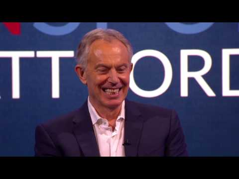 What does Tony Blair think of his impersonators?