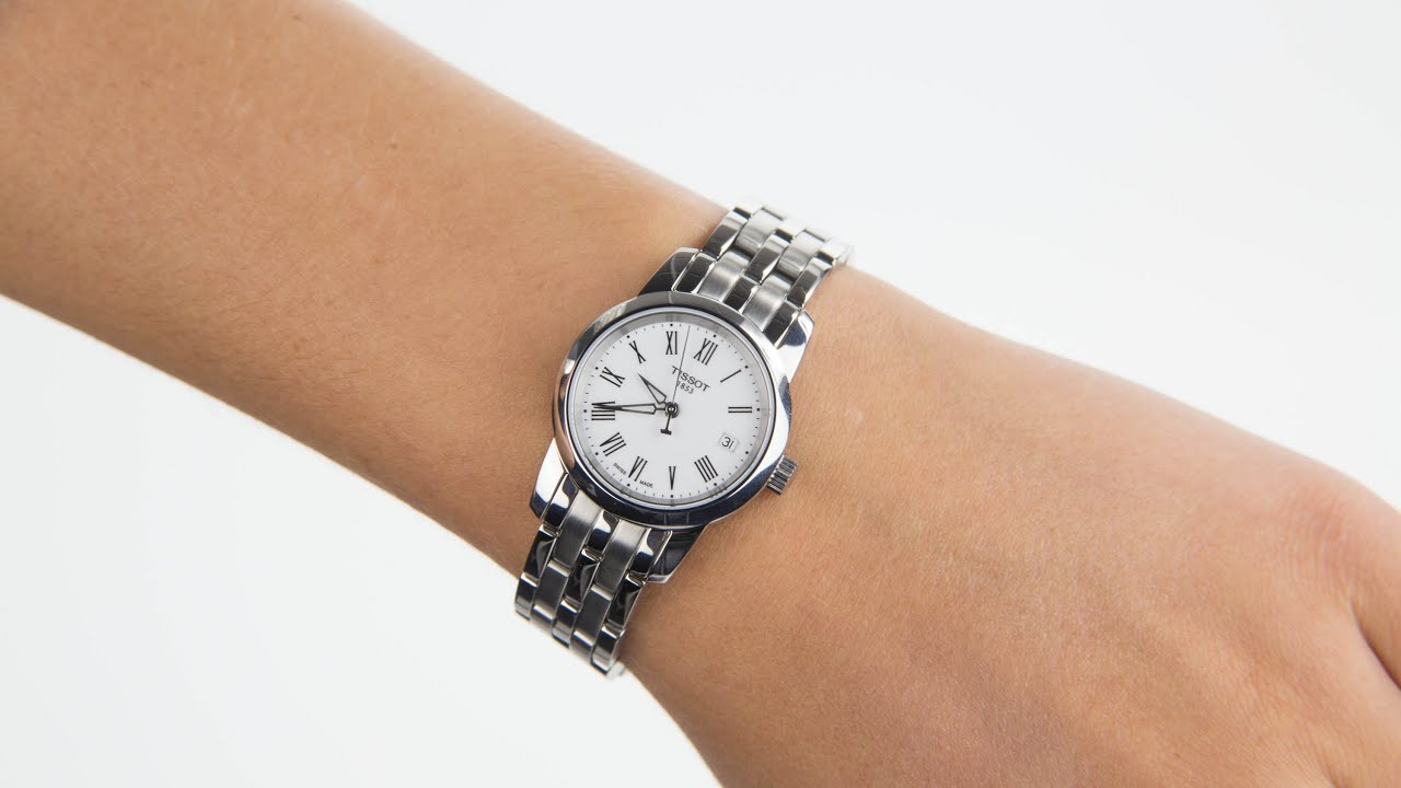 bracelet ladies watches watch youtube tissot