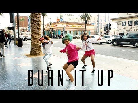 JANET JACKSON- BURNITUP! (feat. Missy Elliott) DANCE VIDEO BURN IT UP