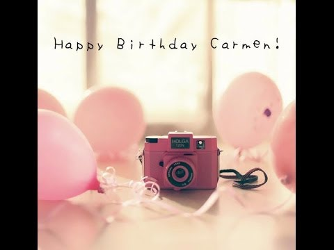 hd happy birthday carmen - photo #23