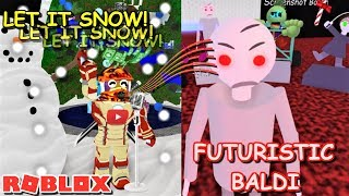 PGHLFILMS TRULY SINGS! AND PLAYS AS FUTURISTIC BALDI!! | The Weird Side of Roblox: Baldi's Basics RP