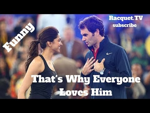 Thumbnail: Tennis. Roger Federer #Top Ever #Funny Moments