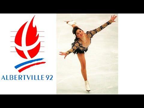 1992 Winter Olympics - Ladies Figure Skating - Free Program