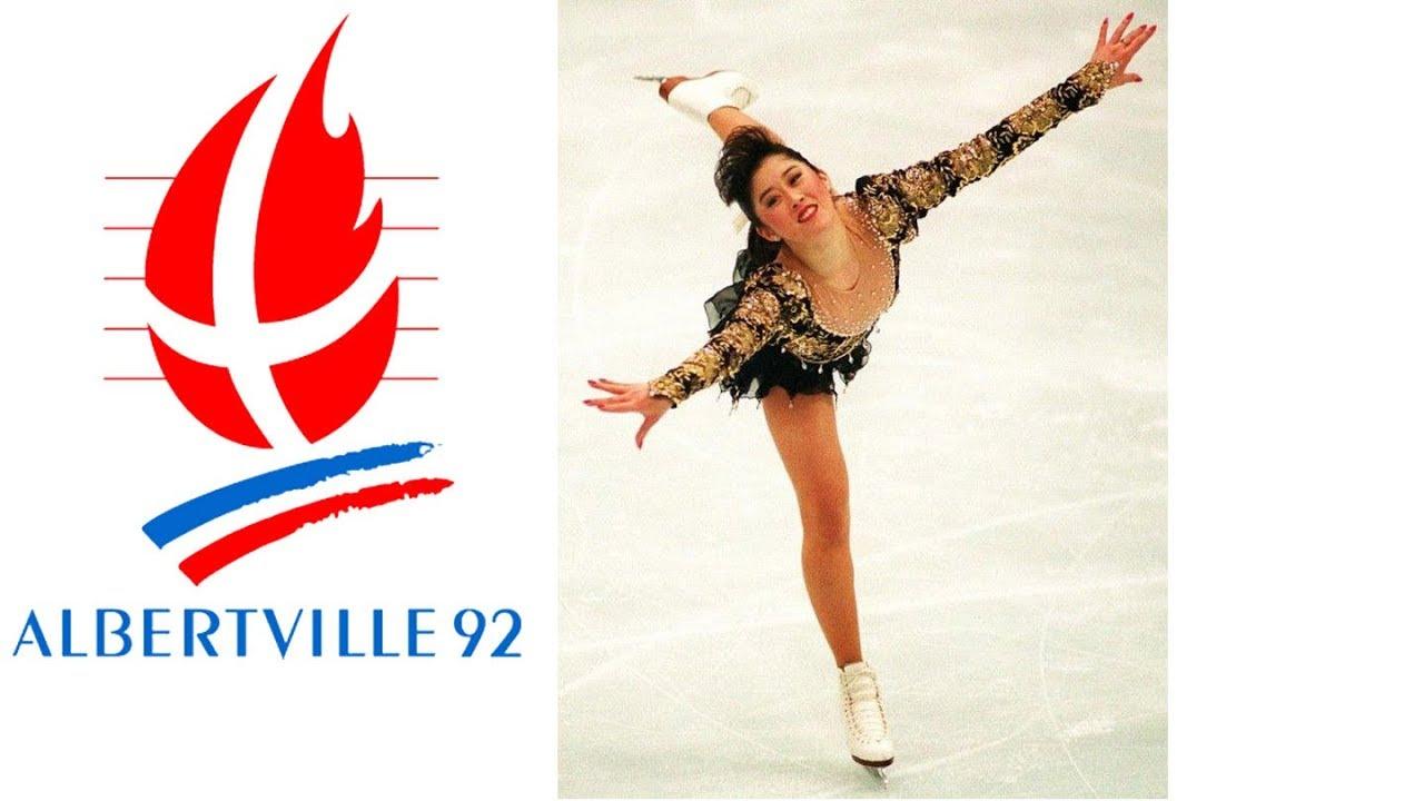 Skating winter figure olympics 1992