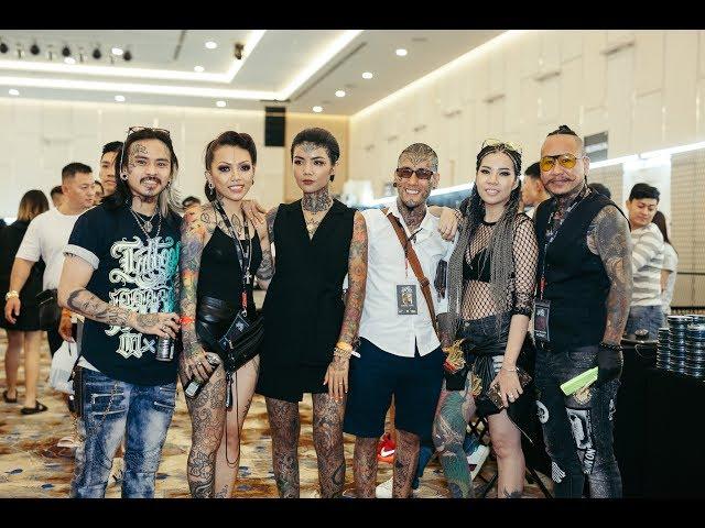 Sài Gòn Tattoo Expo   Mr.Trí Tam Quốc Làm Đầu Cho Vợ Chồng Mai Mèo Đăng Vinh