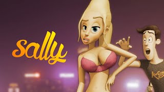 Sally (animated short Blender)