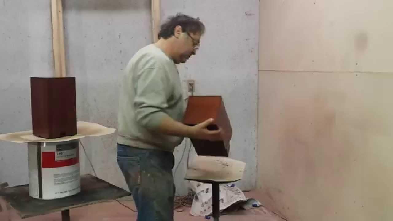 Speaker refinishing timeless arts refinishing   YouTube. Restoring Old Speaker Cabinets. Home Design Ideas