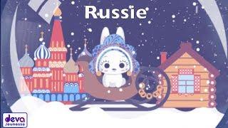 Russie (Chanson de noël avec paroles)ⒹⒺⓋⒶ Noël des enfants