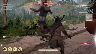 Assassin's Creed Odyssey прохождение боссов : 4. Гирканос Хитроумный