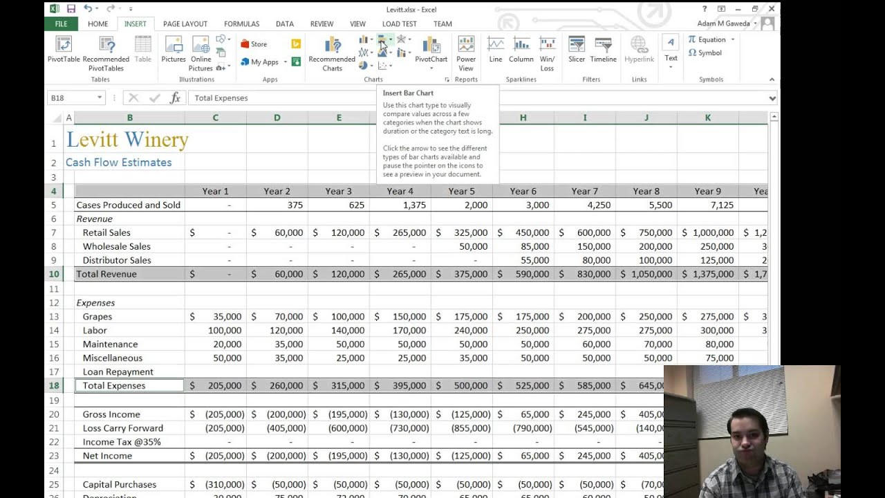 Charts In Excel 2013