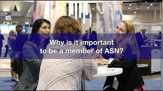 Why is it important to be a member of the American Society of Nephrology?