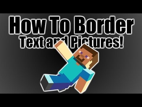 Quick Tutorial: How To Outline Images and Text!