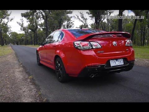 2016 Holden Commodore SS V Redline (LS3) 0-100km/h & engine sound