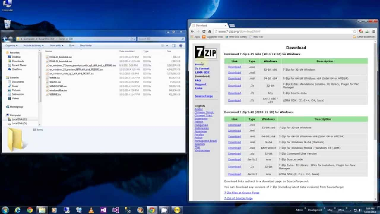 how to create a boot up disc for windows 7
