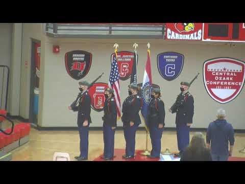 Webb City High School Veteran's Day Assembly 2020