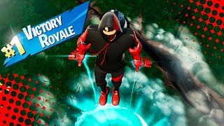 My FIRST VICTORY with the IKONIK SKIN in Fortnite - Gunner496