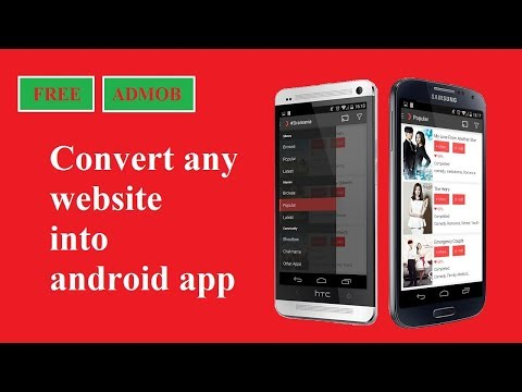 Convert Any Website Into Android App For Free