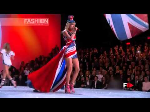 Light Em Up  Fall out Boy ft Taylor Swift  Victorias Secret Fashi Show 2013