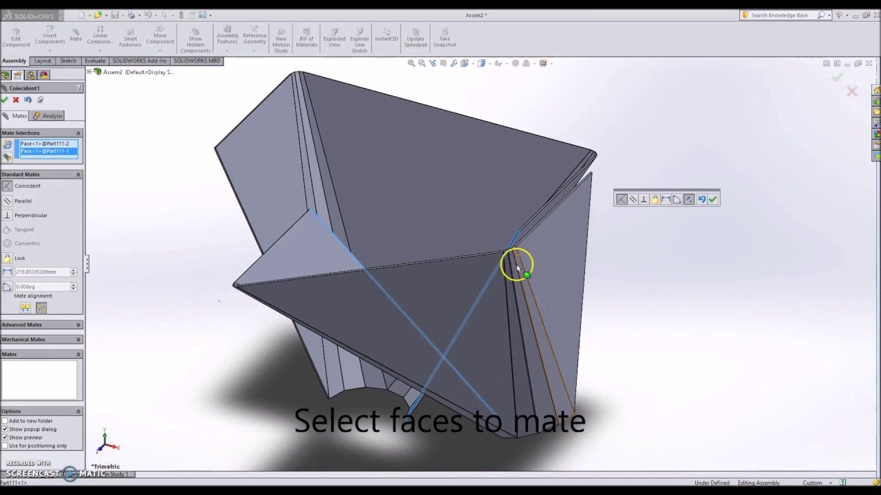Solidworks Sheet Metal 3 Round To Square Chute Duct