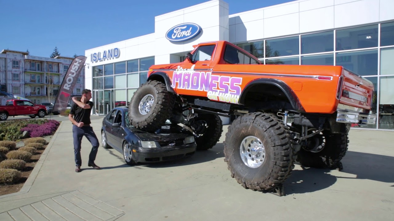 Monster Trucks For Sale >> March Madness Sale Island Ford Monster Truck