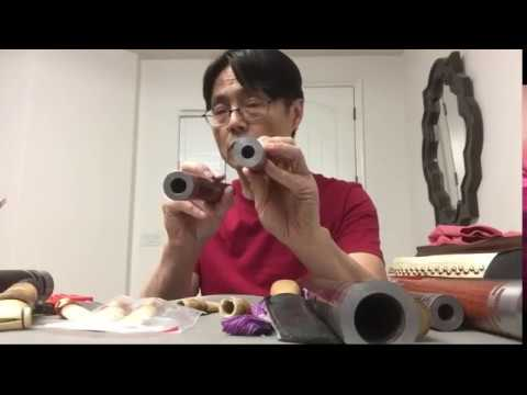 Learning Chinese guanzi (double reed) flute