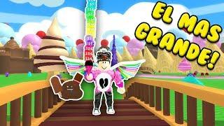 ROBLOX'S BIGEST ICE CREAM ? Roblox Cerso in Spanish