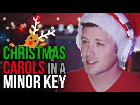 CHRISTMAS CAROLS in a MINOR KEY! 🎄🎅🏻 🎁