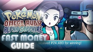 Pokemon ORAS: FAST Money Making Guide! - Interviewers - Mootypwns