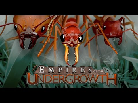 SAVE the ANT QUEEN! Let's Play Empires of the Undergrowth Gameplay