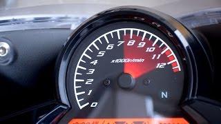 CBR125R加速動画! レブリミットまで回したエンジンサウンド