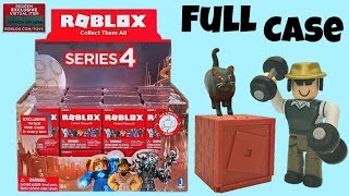 Roblox Series 4 Blind Boxes & Code Items, Full Case, Unboxing & Toy Review, Mystery Figures