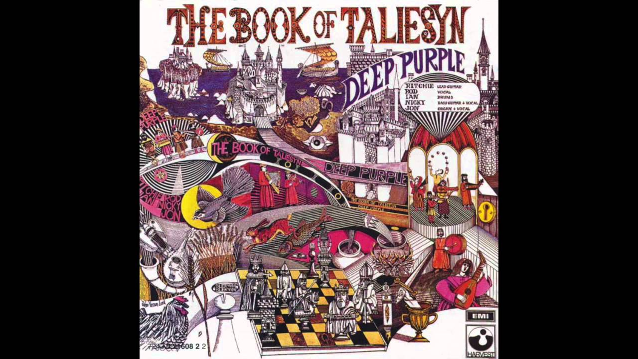 Deep Purple The Book Of Taliesyn Vinyl 1968 Full Album