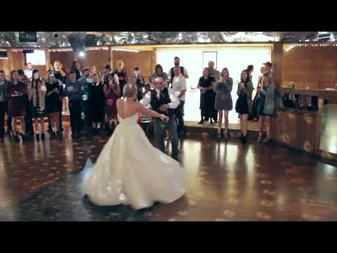 Fun Father & Bride Dance