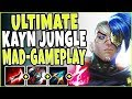 ULTIMATE KAYN JUNGLE 😤 I AM MAD 😤  FORCED ME TO PLAY SERIOUS! Jungle Kayn Season 9 League Of Legends