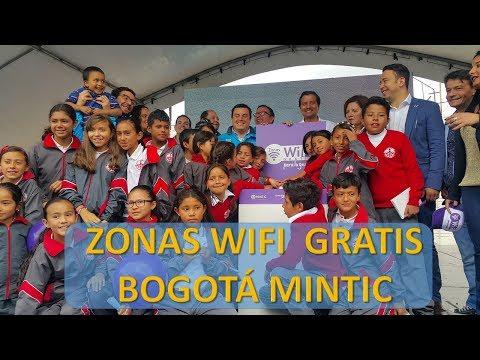Zonas wifi  son 33 en Bogotá inauguradas por Mintic Colombia