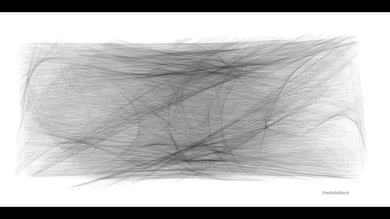 Random Walker - Generative Art (Made with Code / Processing )