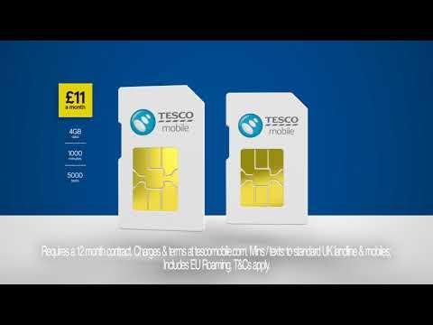 £11 & £15 SIMO   Tesco Mobile   Advert