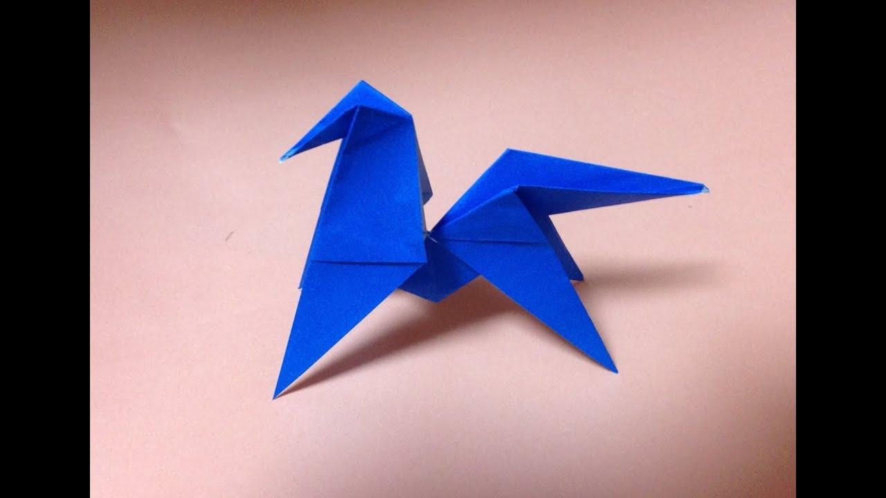 折り紙 うま 折り方 作り方 ... : 折り紙 折り方 袋 : 折り方