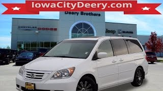 Used Honda Dealer Iowa City | 2009 Honda Odyssey For Sale