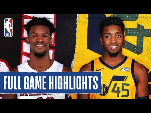 HEAT at JAZZ | FULL GAME HIGHLIGHTS | February 12, 2020