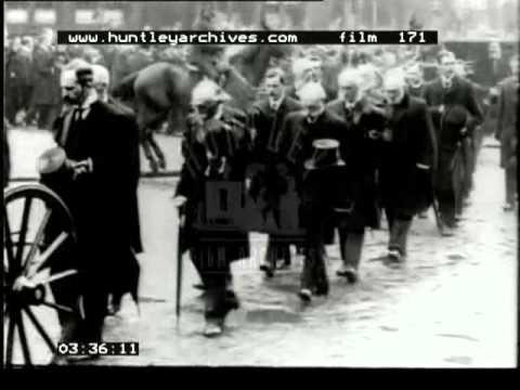 Funeral Of Children's Home Founder, Doctor Barnardo, 1900's -- Film 171