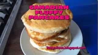 Canadian Fluffy Pancakes