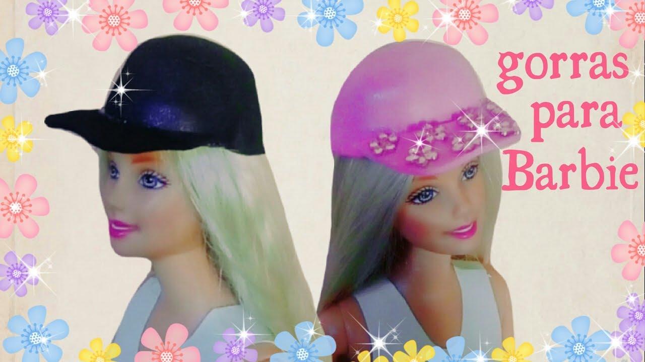 Gorras de fomi para barbie - YouTube b8e6427c5ed