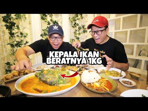 wow-gulai-pucuk-kepala-ikan-si-manyun-yang-sehari-laku-15kg-!!-indonesian-food