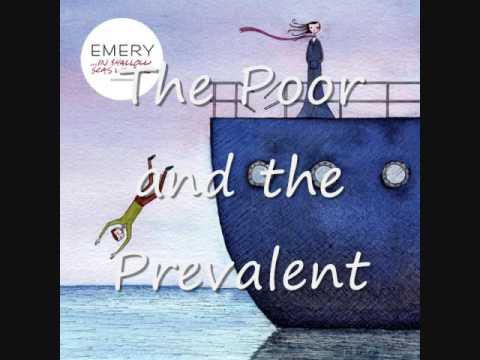 The Poor and the Prevelant - Emery + Lyrics