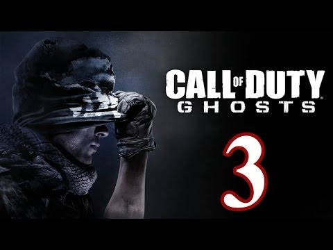 Call of Duty: Ghosts Walkthrough PART 3 [PS3] TRUE-HD QUALITY