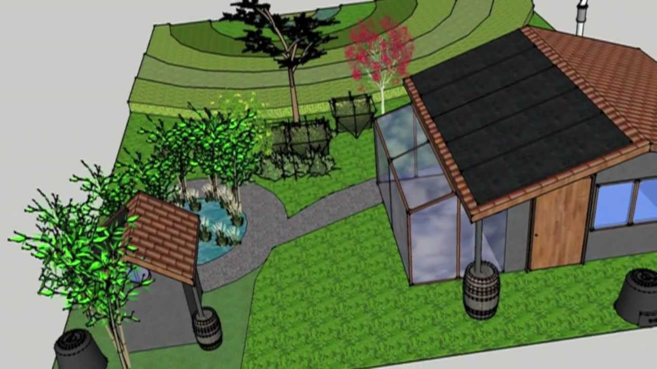 Home Design Using Sketchup   Eco Village Design In Sketchup Youtube