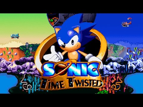 Sonic Time Twisted - Walkthrough - Fan Game