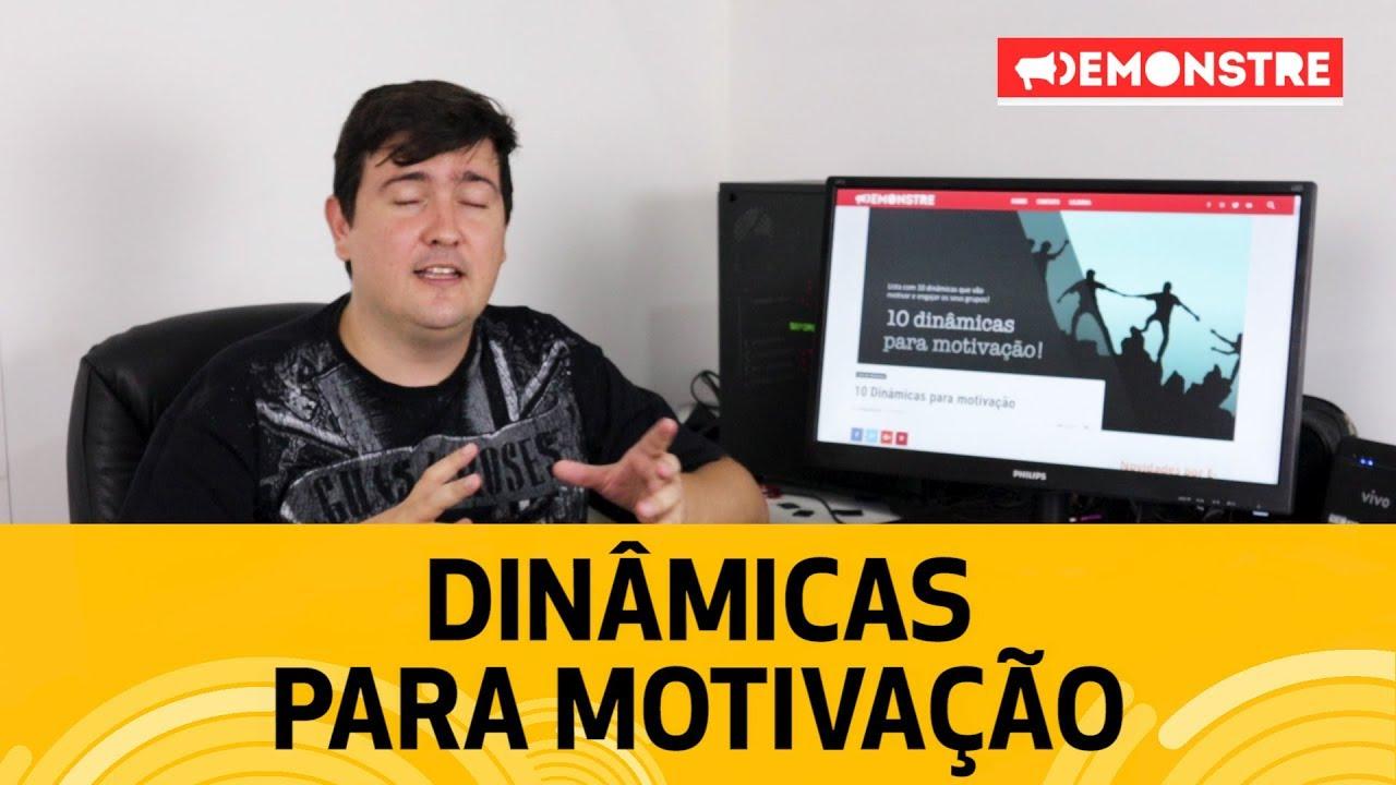 Dinâmicas Para Motivação