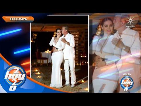 Sergio Goyri celebró su cumpleaños número 62, junto a su novia   Hoy